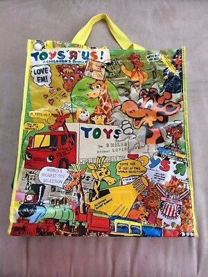 Toys R Us Geoffrey Giraffe Vintage Advertising Ads Reusable Tote Bag