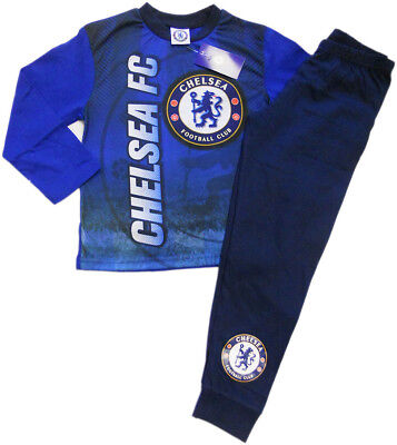 BOYS 10 11 Years CHELSEA FC Poly Training T Shirt Kids Football Top Blue CT26