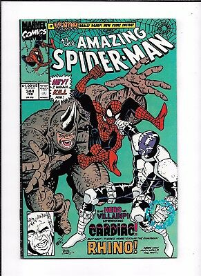 The Amazing Spider-Man #344 ==> Fn/vf 1St Cletus Kasady (Carnage) 1990 Marvel
