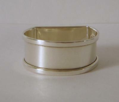 A Vintage Sterling Silver Napkin Ring Birmingham 1934 Henry Griffith & Sons Ltd
