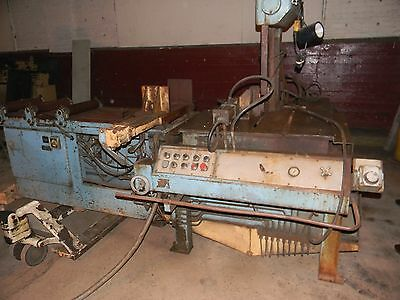 "14"" Thrt 21"" H DoAll TF-14 HA VERTICAL BAND SAW, Tilt Frame, Hydraulic"