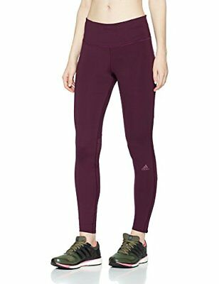 (TG. Large) adidas Sn Lng Ti W, Calzemaglie Donna, Rosso, L (V5h)