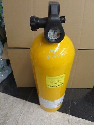 MSA 5-978-1 SCBA Cylinder 2216psi Ultralite II Compressed Air Tank