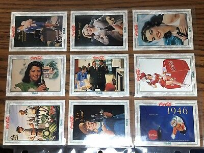 The Coca-Cola Collection Series 2, 54 Trading Cards In Sleeve