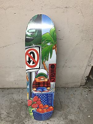 New World Industries Re Issue Skateboard