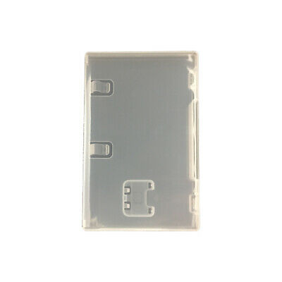 Game case for Switch replacement Nintendo retail box holder ZedLabz 2 pack Clear