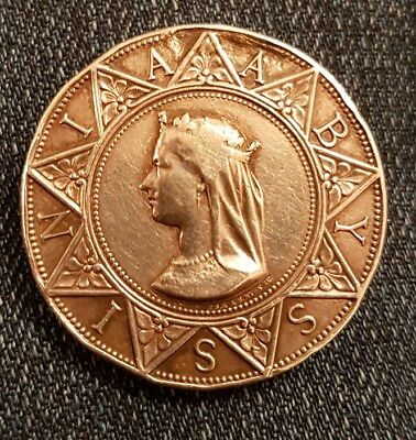 Genuine Full Size Abyssinian  Medal