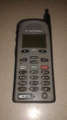 Older Nextel Motorola I390 Cell Phone Good Cosmetic Condition