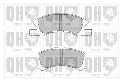 Brake Pads Set fits HONDA CIVIC Mk7 1.7D Front 02 to 05 4EE-2 QH 45022S1AE61 New