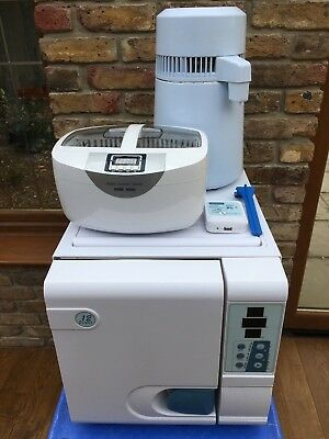 Enigma 12Lt Vacuum Autoclave With Only 7 Runs Dental Podiatry Tattoo Vet Beauty