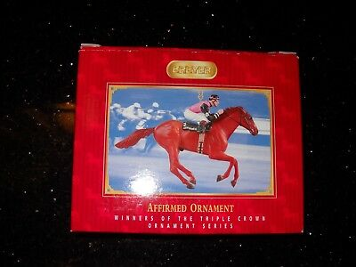 BREYER Affirmed Triple Crown 6th in Series Christmas Ornament #700146 2006