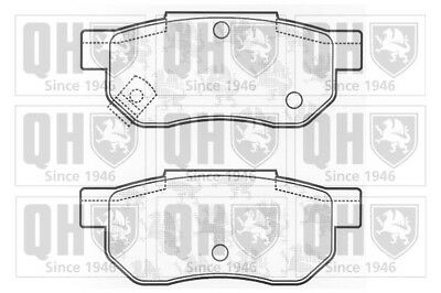 ROVER STREETWISE 2.0D Brake Pads Set Rear 03 to 05 20T2N QH EJP1437 GBP90316 New