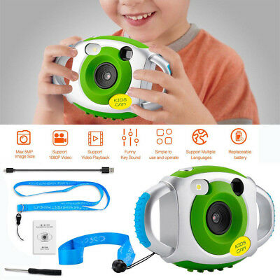 5MP LCD Kids Children Portable Digital Camera HD Video Recording Xmas Gift Toys