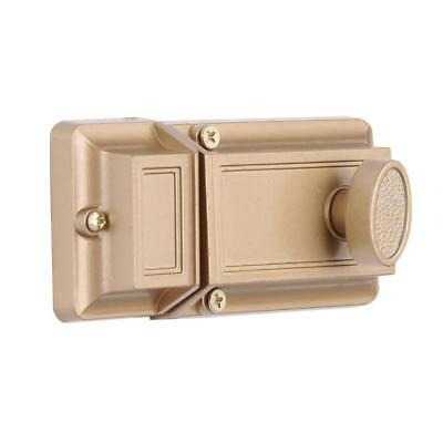 Prime-Line Single Cylinder Brass Surface Deadbolt Entry Door Locking Key