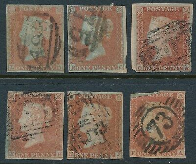 GB Penny Reds x6 average used with small margins