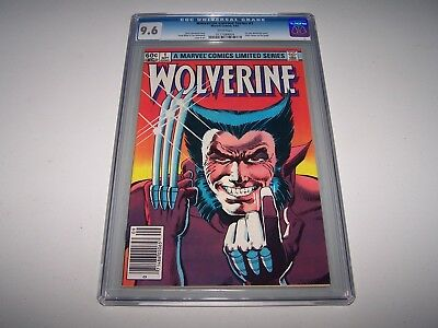 Wolverine Limited #1 CGC 9.6 White ~ *Frank Miller/1st Yashida! ~ TAKING OFFERS!