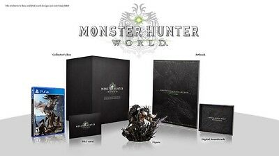 Monster Hunter World Collector's Edition PS4 NA Version Preorder Capcom
