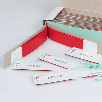Practical Dental Articulating Paper Soft Thin Strips Scratch 10 Sheet *20 Book