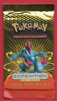 POKEMON EXPEDITION Set Base - pacchetto in italiano 1 BOOSTER PACK - RARE!