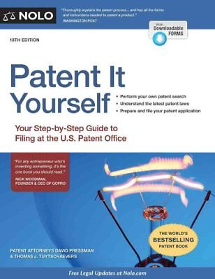 Patent It Yourself Your Step-By-Step Guide to Filing at the U.S... 9781413322576