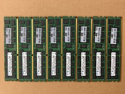 HP Server RAM 32 GB (8x4 GB) DDR3 ECC 2Rx4 PC3 10600R