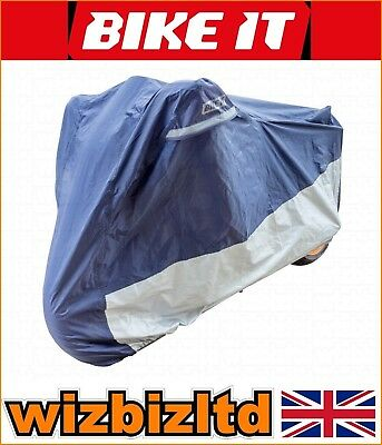 Deluxe Polyester Ventilated Motorcycle Raincover BMW 1100 R RT 2001 RCODEL04