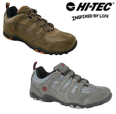 Mens Suede Trail Boots Hiking Walking Outdoor Trainers Ghillie Lace up UK 7- 12