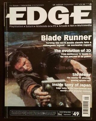 Edge magazine September 1997 Issue 49