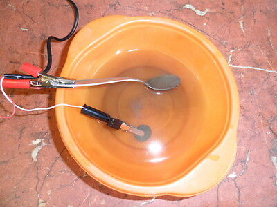Electrolysis Coin Cleaning  Kit `Electro One` + Beg. Guide & Roman Coins CDROM