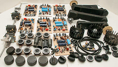 Box Lot Of 57 Bell & Howell 2580 16mm Sound Movie Projector Parts