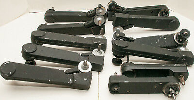 Box Lot Of 11 Bell & Howell 2580 16mm Sound Movie Projector Parts - Reel Arms