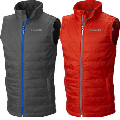 "New Boys Columbia ""Crested Butte"" Omni-Heat Water-Resistant Insulated Vest"