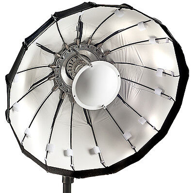 60cm Folding beauty dish, white, Lencarta/Bowens fitting