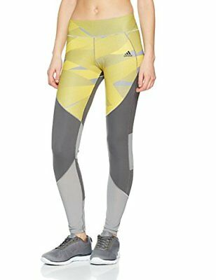 (TG. XXS) adidas Ult C and S Pr Lng Calzemaglie, Grigio (Gricin/Print), (G9j)