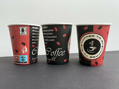 1000 Coffee TO GO Becher 200ml Kaffeebecher Papbecher Coffeebecher 0,2l
