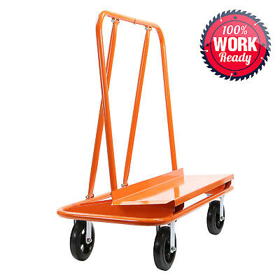 OPEN BOX - Drywall Sheet Cart Plywood Panel Dolly Trolley Truck 4 Swivel Wheels