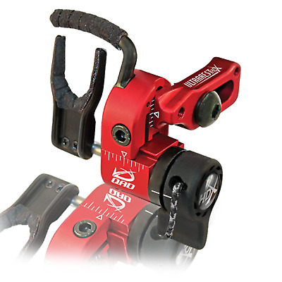 QAD Ultra-Rest HDX Red Right Hand Arrow Bow FREE KNIFE + DVD NEW!