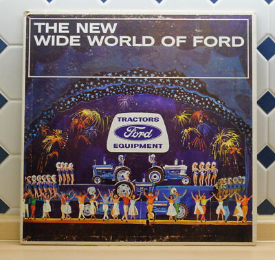 Ford Tractor ... New World Serie ... Vinyl Record ... rare item