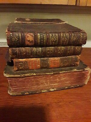 Antique Tantalus Made From Faux Leather Bound Books Very Rare