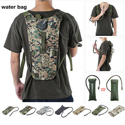 Tactical Water Bottle Pouch Military Molle Bag Pouch Holder Camping Hiking Bags