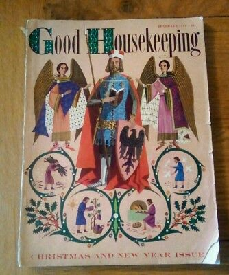Good Housekeeping December 1959 Christmas number