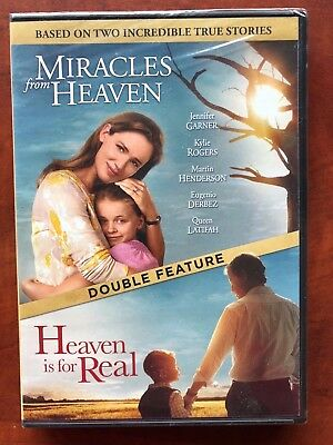 DVD Miracles From Heaven  + Heaven is for Real Double feature New Free Ship