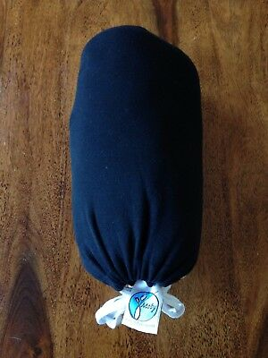 Moby Wrap for Baby Wearing - Black, in excellent condition