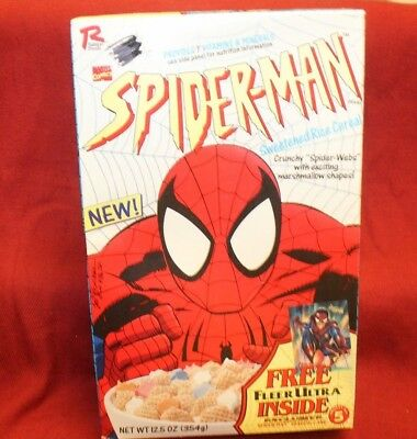 Spiderman Cereal Box ~ 1995 ~  Unopened ~ SEALED ~
