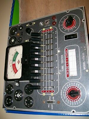 SUPERIOR model TV-11 parts tube tester