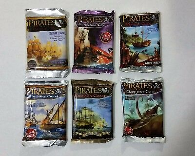 WizKids Pirates of the Spanish Main Booster Lot
