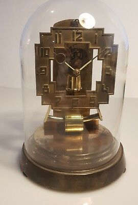 Rare Kundo Electro Magnetic Clock In Art Deco Case G W O