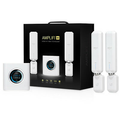 Ubiquiti AMPLIFI AFI High Density Home Wi-Fi Mesh Starter Kit