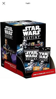 ~Star Wars Destiny-Spirit of rebellion Booster Box NEW Sealed 36 packs~