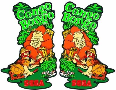 WOW!! Congo Bongo SIDEART, color matched and machine cut to original specs.